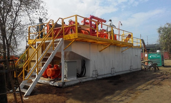 500GPM HDD Mud Recycling System